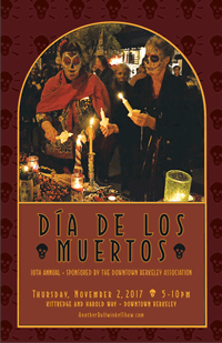 Dia de los Muertos - Mexican Day of the Dead, Berkeley event and costume contest